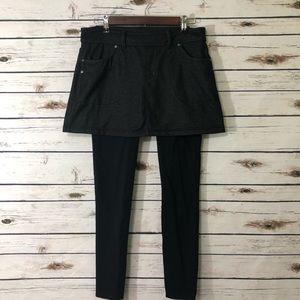 Athleta Skirt & Legging Combo / Medium